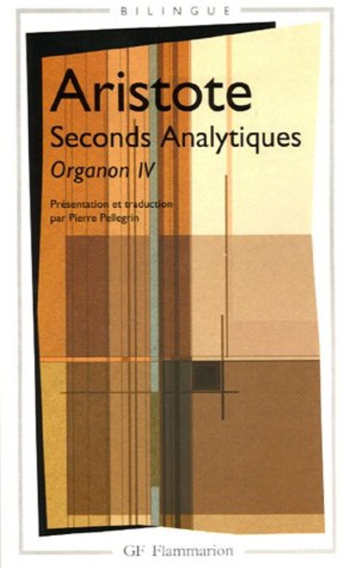 Seconds Analytiques : Organon IV