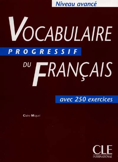 Vocabulaire progres.fra.avance