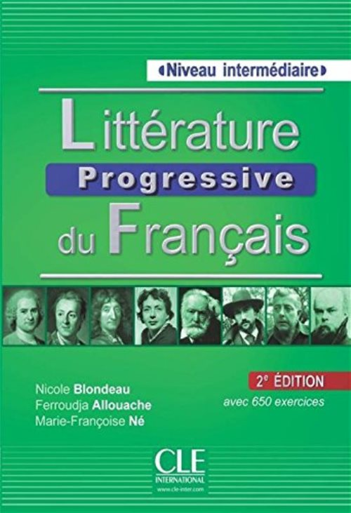 Litterature progressive fle niveau intermediaire + cd