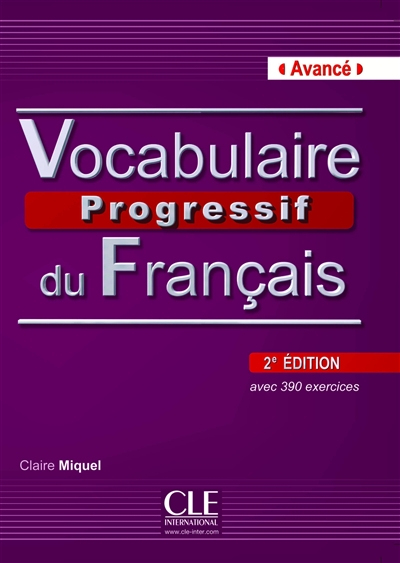 Vocabulaire progressif du francais avance 2ed + cd