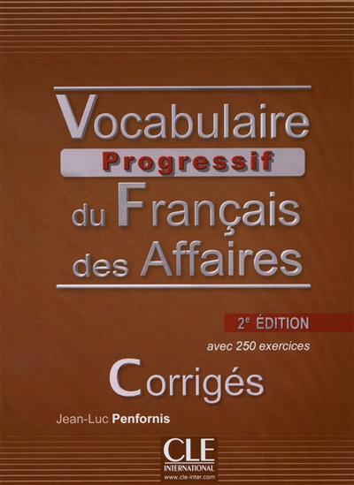 Corriges vocabulaire progressif du francais des affaires intermediaire