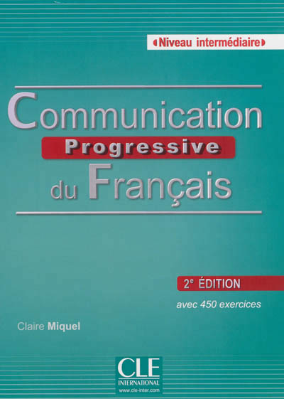 Communication progressive du francais intermediaire + cd audio 2ed