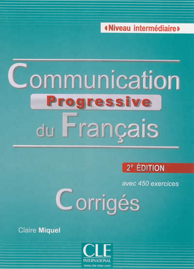 Corriges communication progressive du francais intermediaire