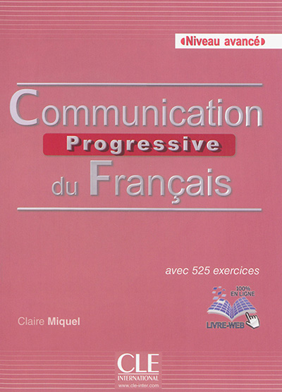 Communication progressive du francais fle niveau avance + cd audio