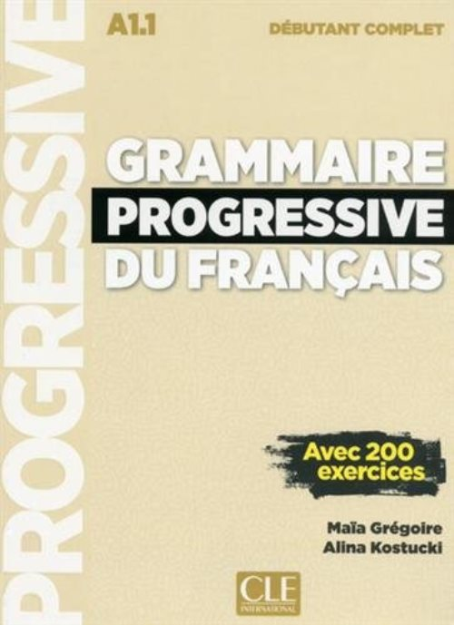 Grammaire progressive du français débutant (1CD audio MP3)