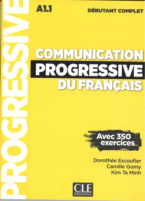 Communication progressive debutant complet 3ed + cd