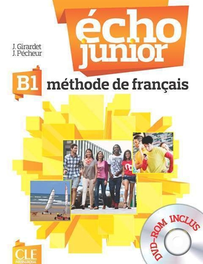 Echo junior B1 méthode de français