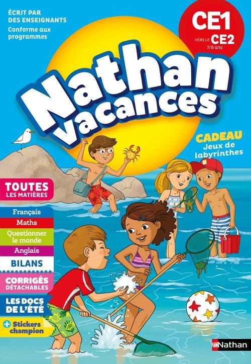 Cahier De Vacances 2018 Du Ce1 Vers Le Ce2 Nathan Vacances