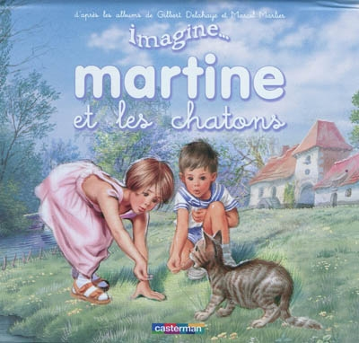 Imagine martine et le chaton