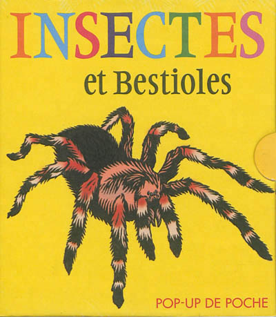 Pop-up de poche - insectes & bestioles