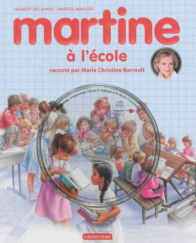 Martine a l'ecole + cd (ed 2013)