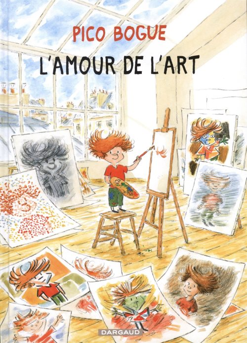Pico Bogue, Tome 10 : L'amour de l'art