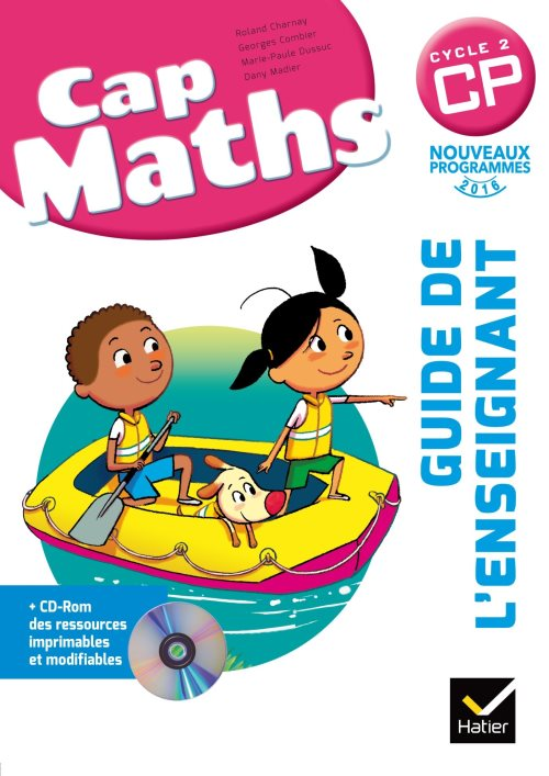 Cap Maths CP éd. 2016 - Guide de l'enseignant + CD Rom