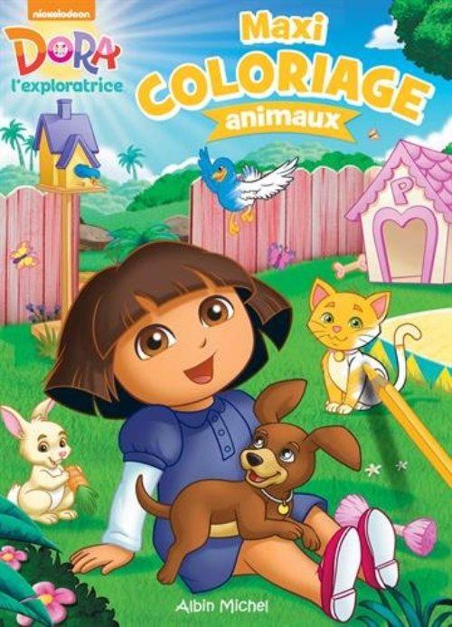 Maxi coloriage les animaux nickelodeon librairie la page - Maxi coloriage ...