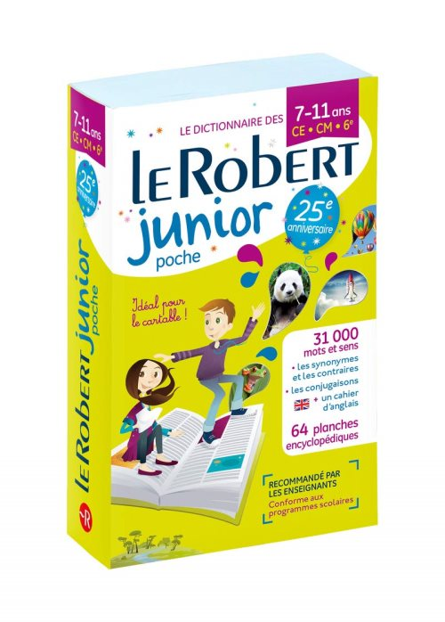 Le Robert Junior Poche Plus - CE-CM-6e