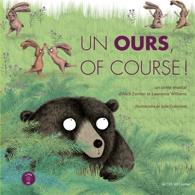 Un ours, of course