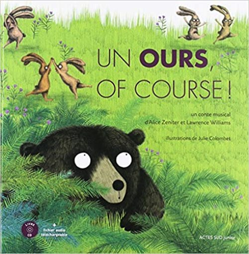Un ours, of course ! - un conte musical