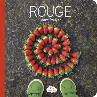 Ptit land art rouge