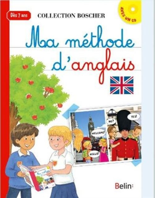 Ma méthode d'anglais (1 CD audio)