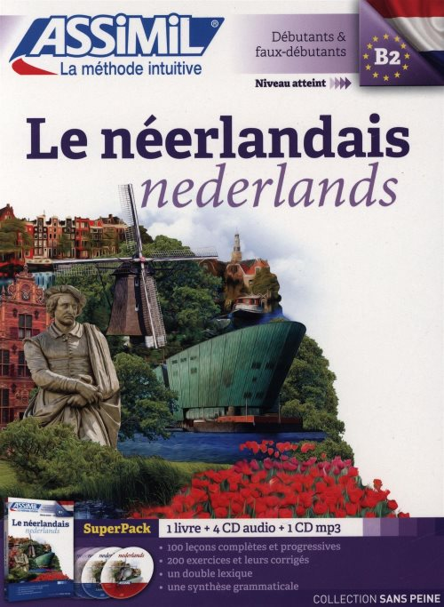 Le Néerlandais Superpack (livre+4CD audio+1CD mp3)