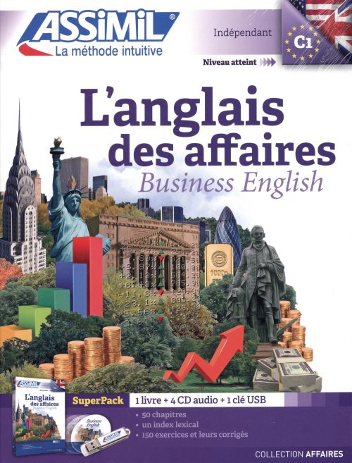 Anglais des Affaires Superpack (livre+4CD audio+1CD mp3)