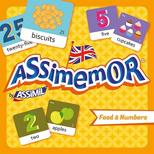 Assimemor Food and Numbers (coffret jeu de 64 cartes)