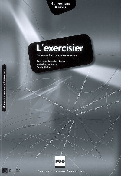 Exercisier (l') - corriges - nouvelle couverture