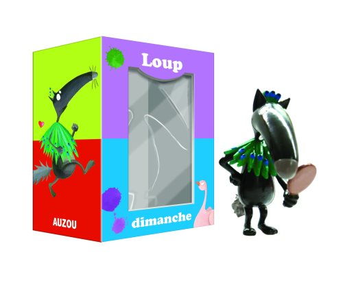 Figurine individuelle loup  : dimanche