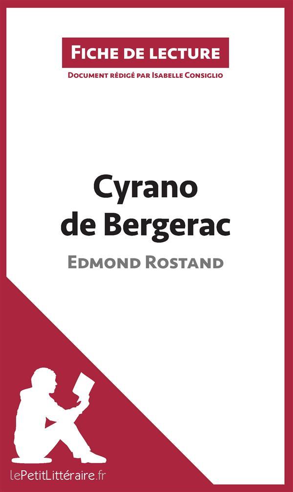 resume du livre cyrano de bergerac