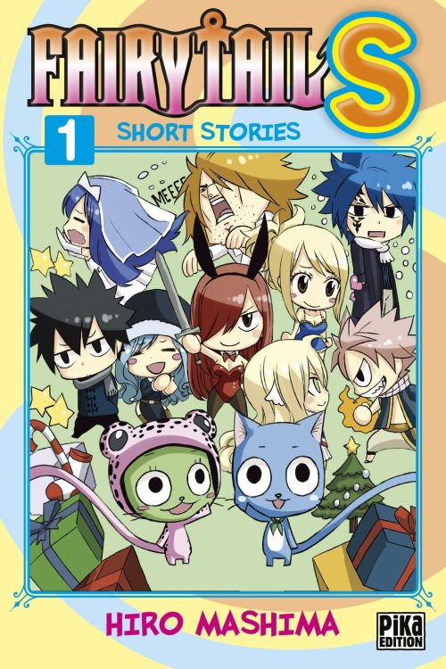 Fairy Tail S : Short Stories, Tome 1
