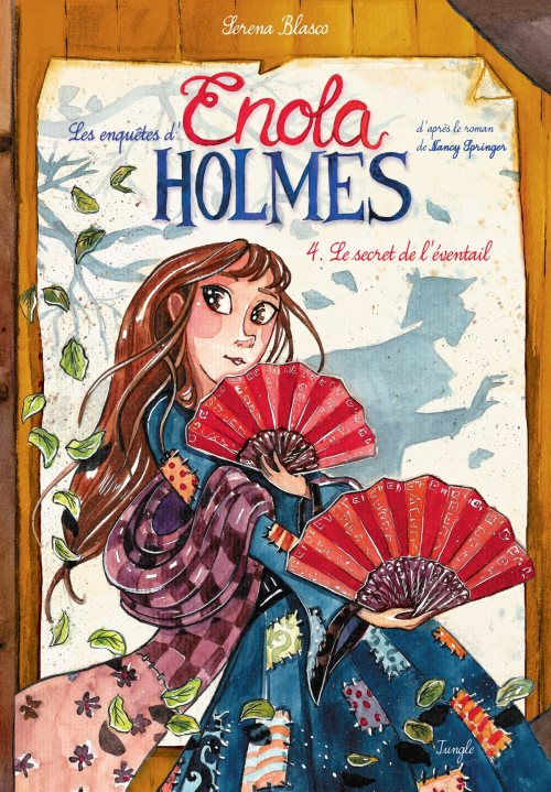 Enola holmes - tome 4 le secret de l'eventail - vol04