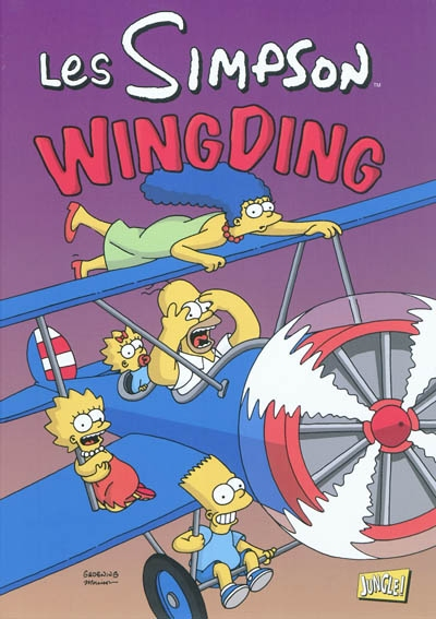 Les simpson - tome 16 wingding - vol16