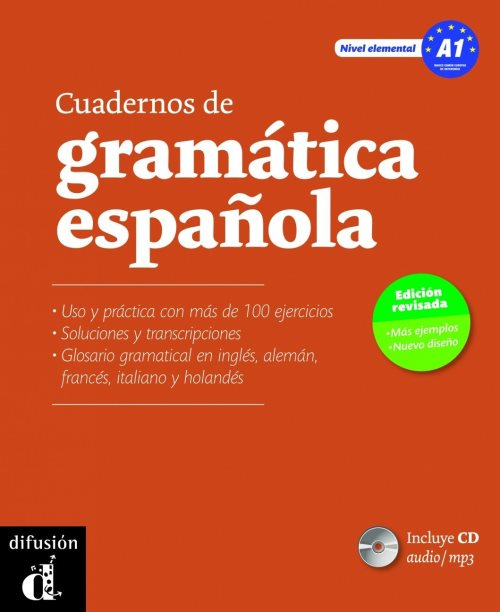 Cuadernos de gramatica espanola : Nivel A1 (1CD audio MP3)