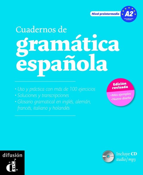 Cuadernos de gramatica espanola : Nivel preintermedio A2 (1CD audio MP3)