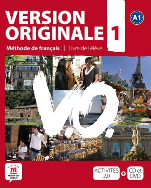 Version originale A1 - livre de l'élève + cd + dvd