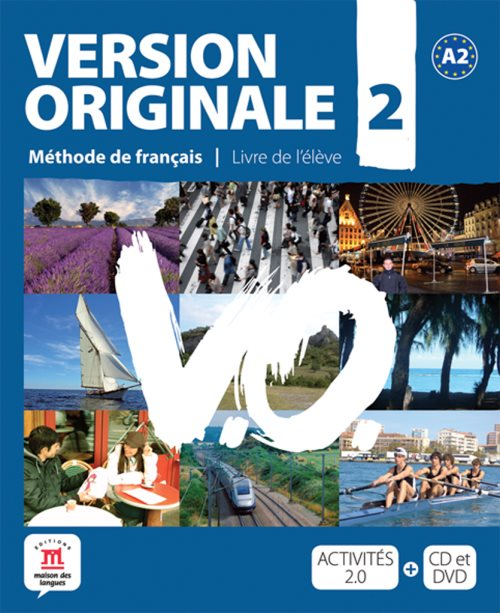 Version originale A2 élève +cd +dvd