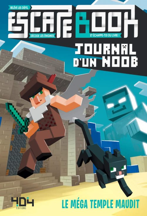 Journal d'un noob - escape book - le mega temple maudit