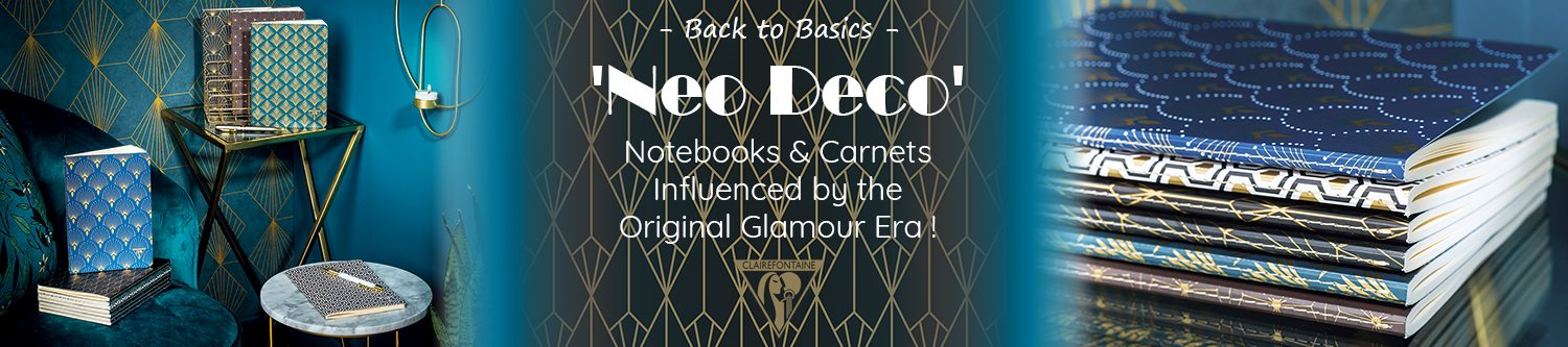 Clairefontaine Neo Deco Carnets + Notebooks Slider
